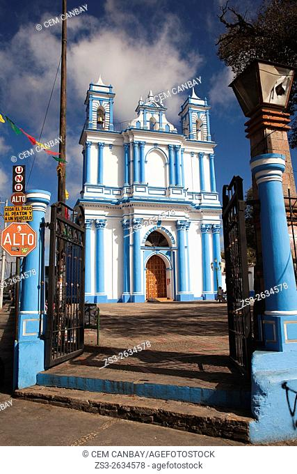 Church of Santa Lucia, San Cristobal de las Casas, Chiapas State, Mexico, Central America