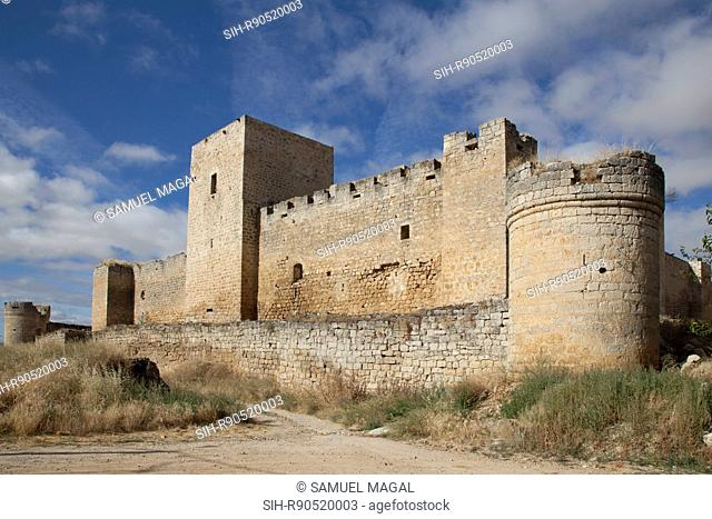 The history of Trigueros Castle was probably built in the 14th century and completed in 1453. Due to it's location on a small hill it seems that it was a...