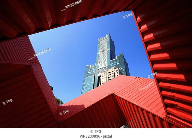 Kaohsiung 85 Building - Container Art