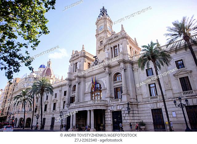 Town Hall, Valencia, Spain