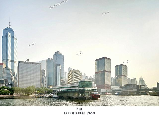 Cityscape, Sheung Wan, Hong Kong