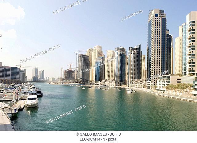 Jumeirah Beach Residences, Dubai Marina, UAE