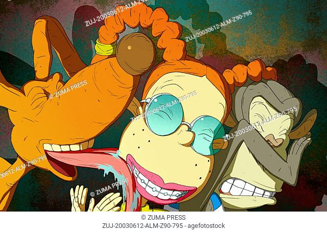 Jun 12, 2003; Los Angeles, CA, USA; Spike, Eliza Thornberry and Darwin in the animated movie 'Rugrats Go Wild' Directed by Norton Virgien and Jon Eng