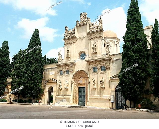 Lecce, Italy, Church of SS.Niccolò and Cataldo