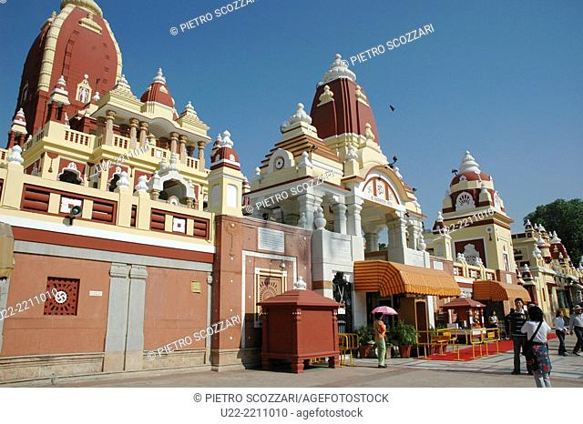 Delhi, India: the Laxminarayan Temple
