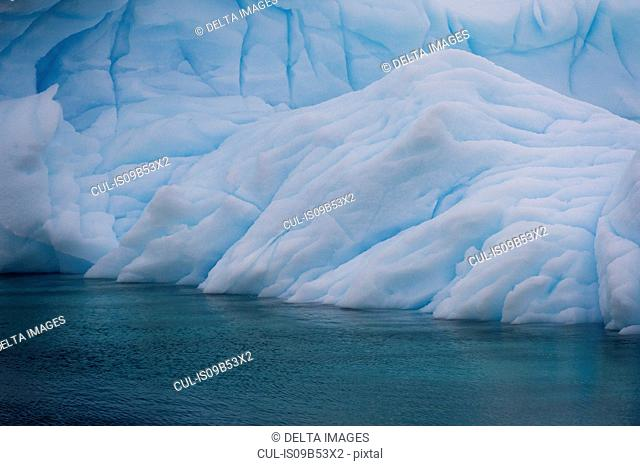 Iceberg detail, Lemaire channel, Antarctic