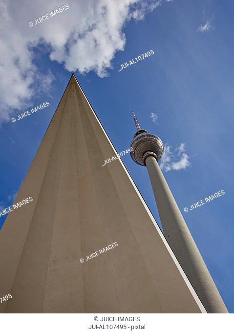 The Fernsehturm, Berlin, Germany