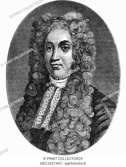 Sir Hans Sloane, English physician, naturalist and collector, c1793 (1878). Artist: Unknown