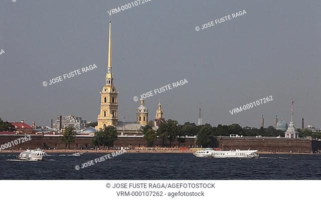 Rusia , San Petersburg City, San Peter and Paul Cathedral,W.H