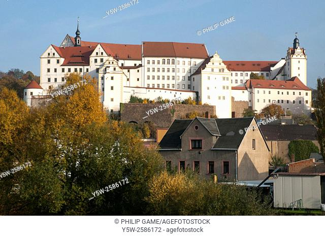 """Colditz Castle, the supposedly """"""""escape proof"""""""" Second World War prison camp for Allied officer prisoners-of-war held in Nazi Germany"""