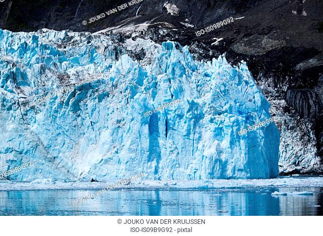 Glacier, Prince William Sound, Whittier, Alaska, United States, North America