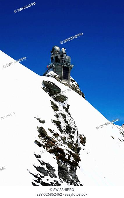 Sphynx observatory in the Jungfrau region