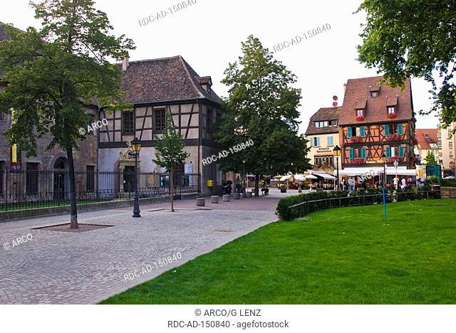Museum Unterlinden Colmar Alsace France Musee Unterlinden