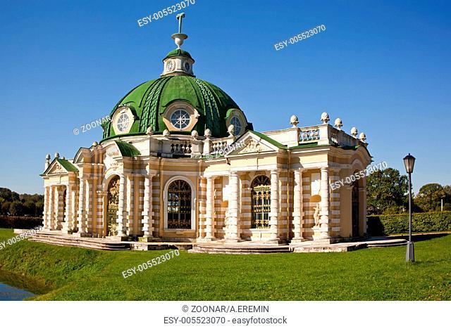 The Grotto Pavilion at the museum-estate Kuskovo