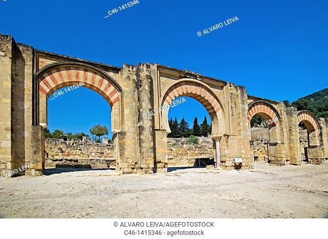 Ruins of Medina Azahara, palace built by caliph Abd al-Rahman III  Córdoba province, Andalusia, Spain