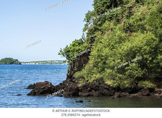 Landscape, flora, Mayotte, Grande Terre, Mayotte, Department of Mayotte (France), Comoro Islands