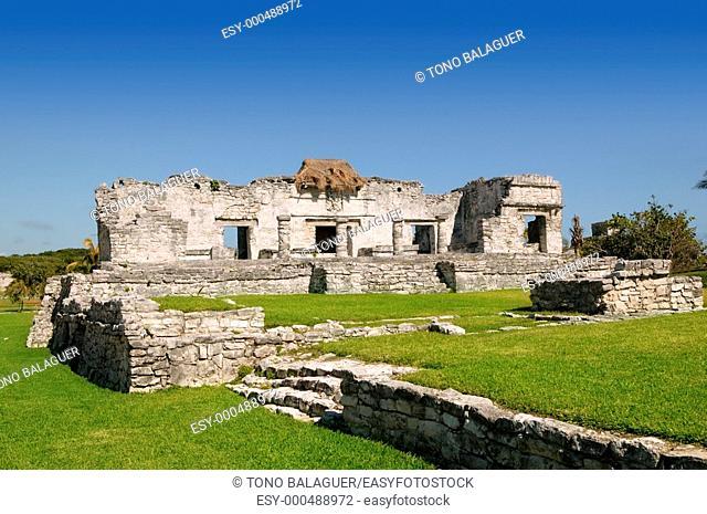 Mayan ruins at Tulum Mexico monuments Riviera Maya