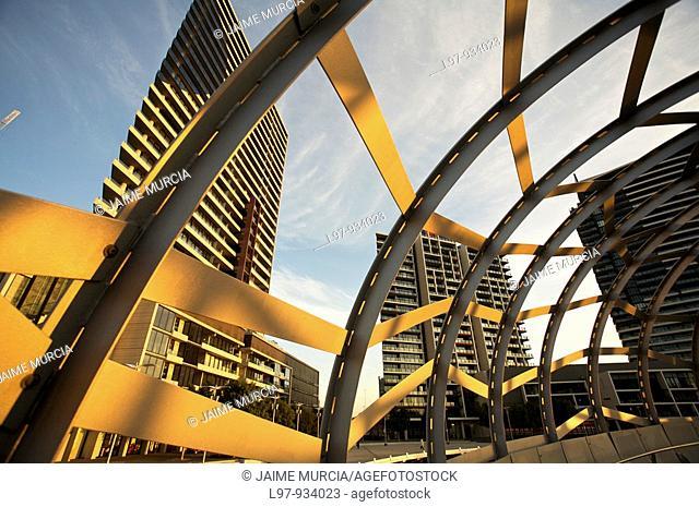 Webb bridge docklands Melbourne