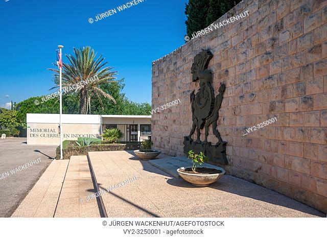 Memorial of war in Indochina, Frejus, Var, Provence-Alpes-Cote d`Azur, France, Europe