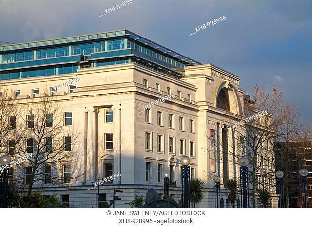 Centenary Square, Birmingham, West Midlands, England, UK