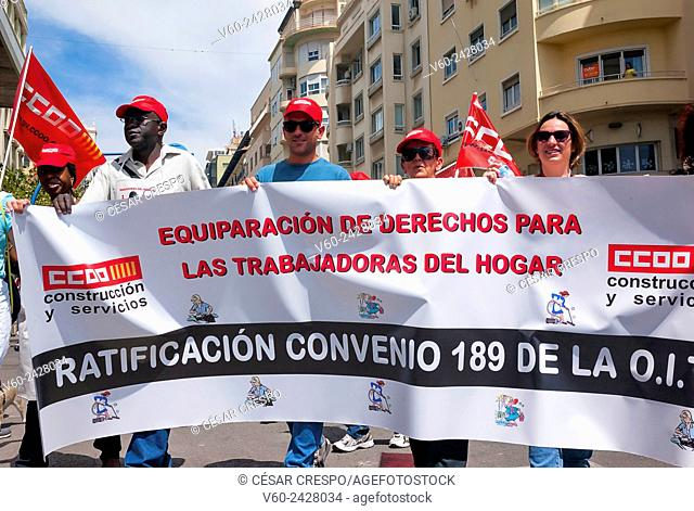 -Demonstration Against the Government Cuts- Alicante 1st of May (Spain)