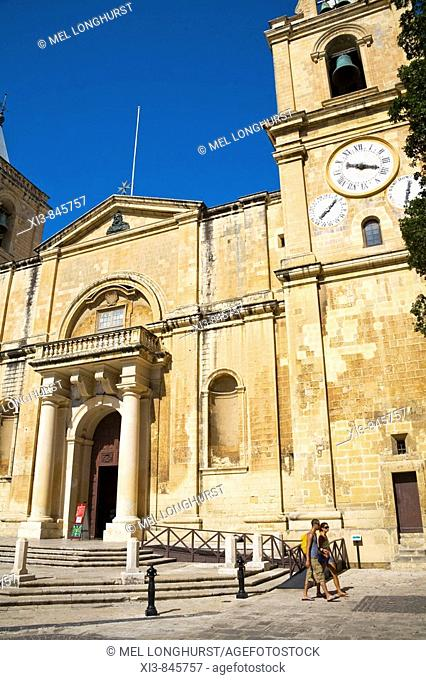 Saint John's Catholic Cathedral, Saint John's Square, Valletta, Malta