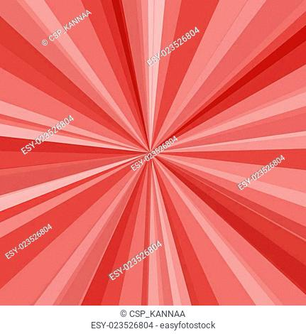 Red rays background. Vector illustration for your bright beams design