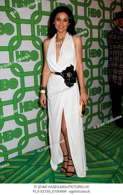 Emmanuelle Chriqui 01/06/2019 The 76th Annual Golden Globe Awards HBO After Party held at the Circa 55 Restaurant at The Beverly Hilton in Beverly Hills