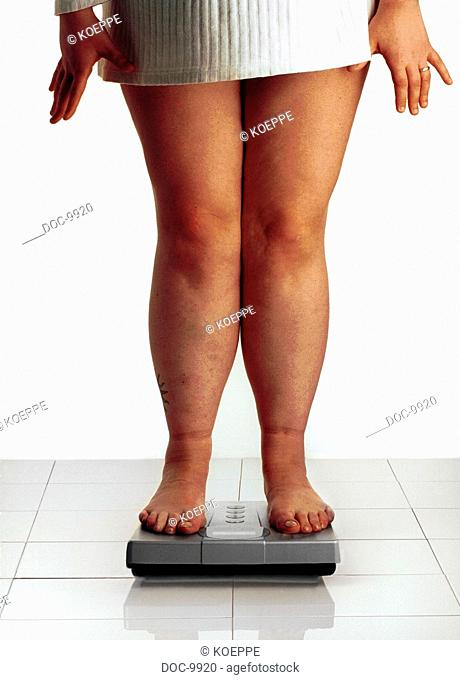Thick legs on some bathroom scales