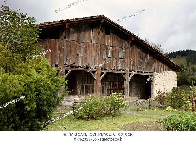 Caserio Igartubeiti, Ezkio - Itxaso, Gipuzkoa, Basque Country, Spain