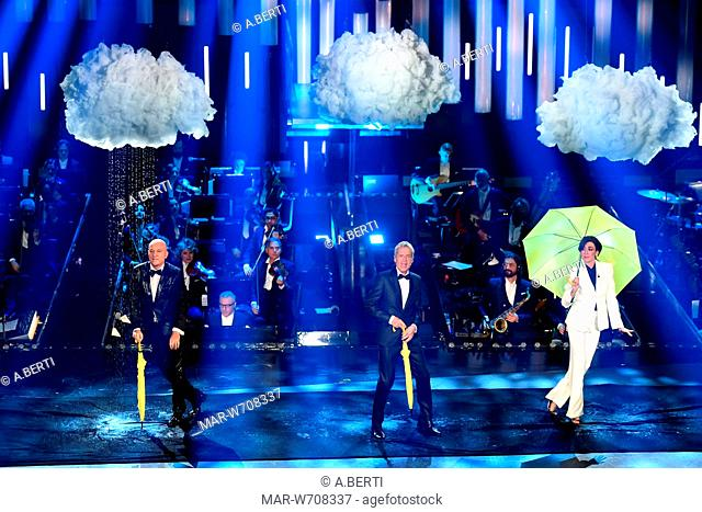 Claudio Baglioni, Claudio Bisio, Virginia Raffaele Sanremo, 5 - 9 Febbraio 2019 69mo Festival della canzone italiana
