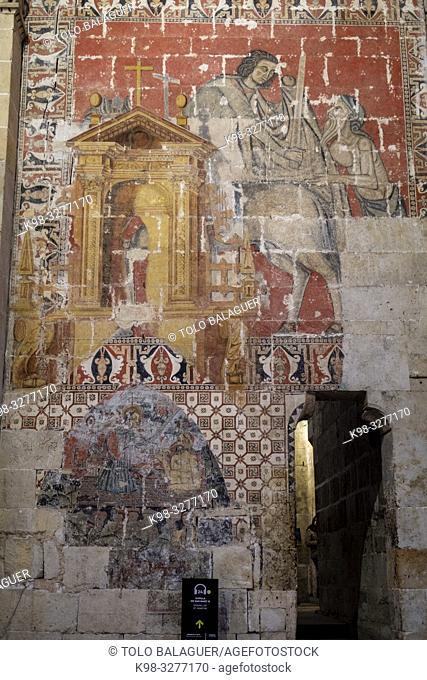 Catedral de la Asunción de la Virgen, catedral vieja, Salamanca, comunidad autónoma de Castilla y León, Spain