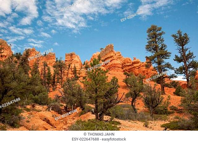 red Bryce Canyon