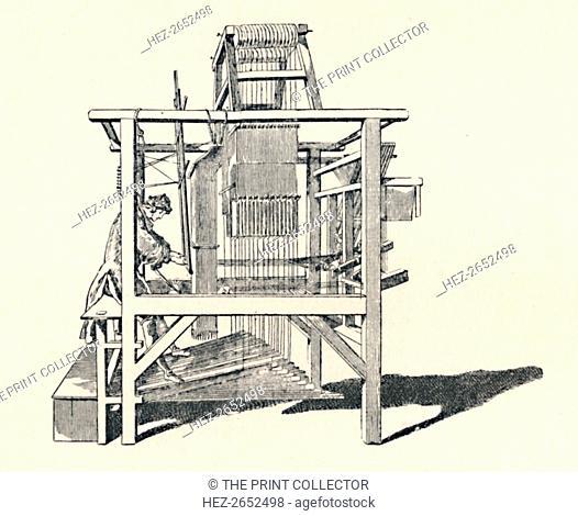 'Ribbon Weaver at His Loom', 1747, (1904). From Social England, Volume V, edited by H.D. Traill, D.C.L. and J. S. Mann, M.A