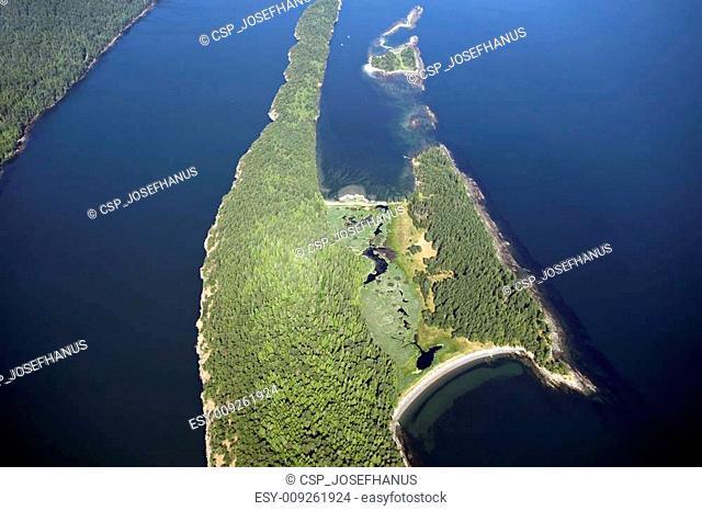 Cabbage Island and Tumbo Island, Canada