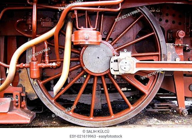 Dampflok Räder