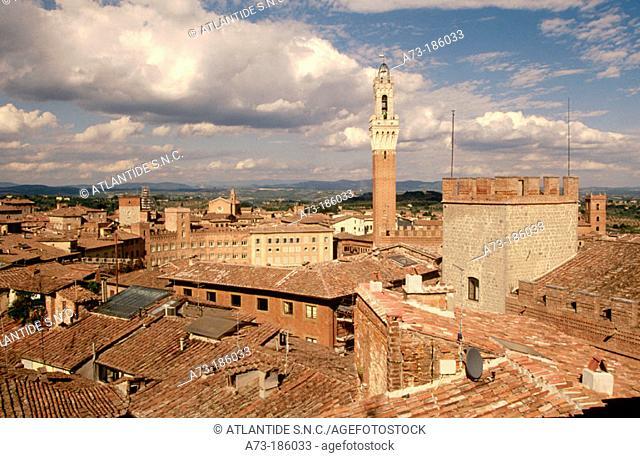 Siena. Tuscany. Italy