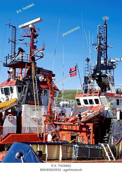 Hammerfest, harbour, Norway, Finnmark, Hammerfest
