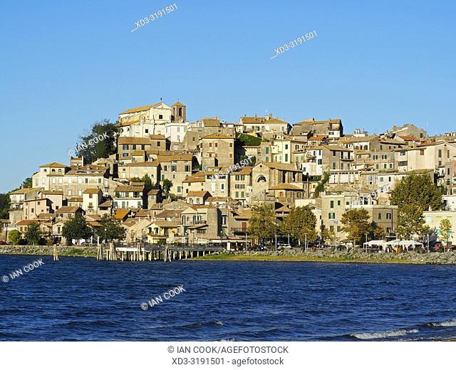 Anguillaro Sabazia and Lake Bracciano, Lazio Region, Italy