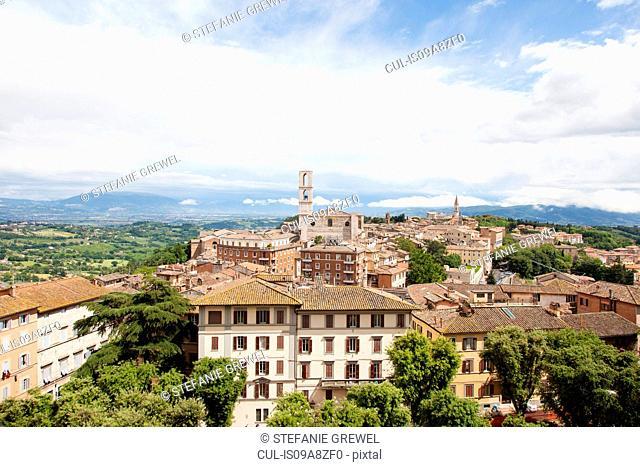 View of Perugia, Umbria, Italy