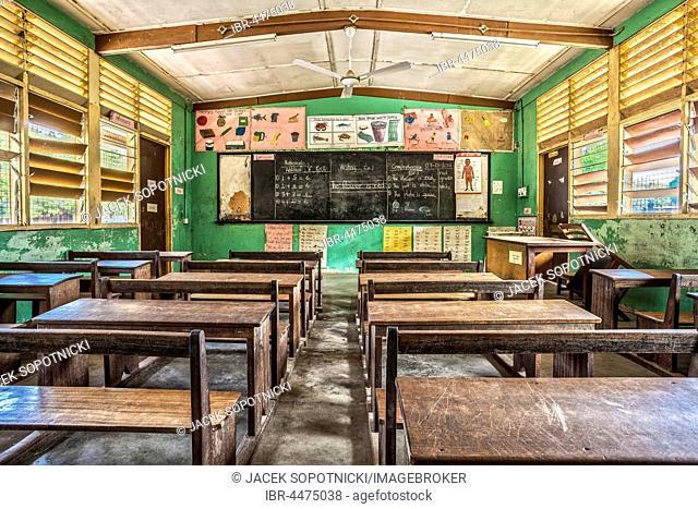 Classroom in Elementary School, Ghana