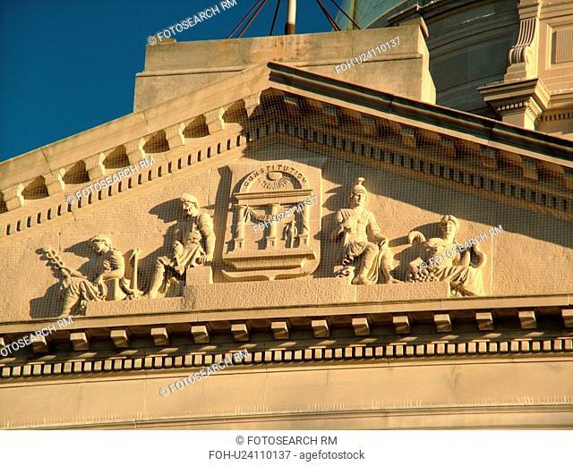 Atlanta, GA, Georgia, State Capitol, State House, fatade