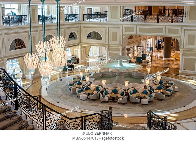Arabia, Arabian peninsula, the Persian Gulf, United Arab Emirates (VAE), Ra's al-Chaima / Race Al Khaimah, Waldorf Astoria