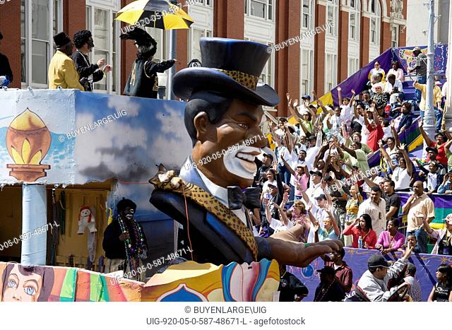 Mardi Gras Parade, New Orleans, Louisiana, a few months after Hurricane Katrina 2006
