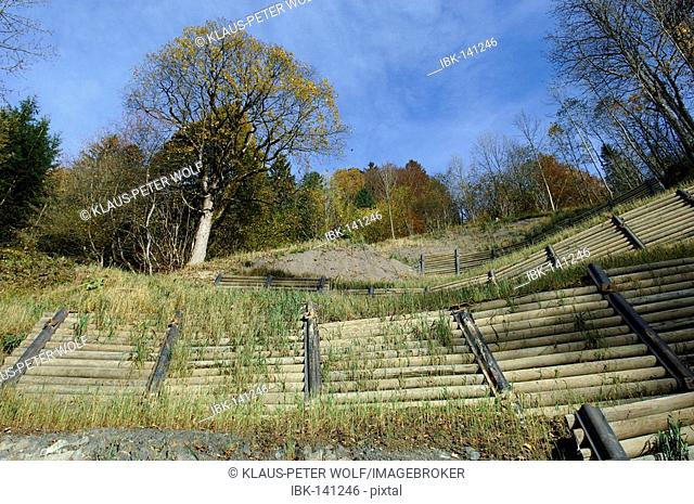 Protection from erosion near Gramisch, Upper Bavaria, Germany
