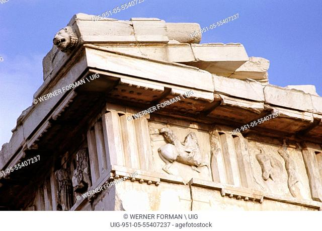 Detail of the Parthenon metope fighting centaur