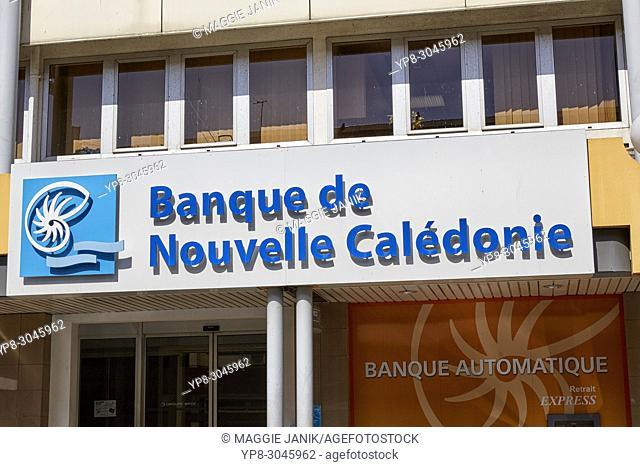 Banque de Nouvelle Caledonie, Noumea, New Caledonia (Nouvelle-Caledonie)