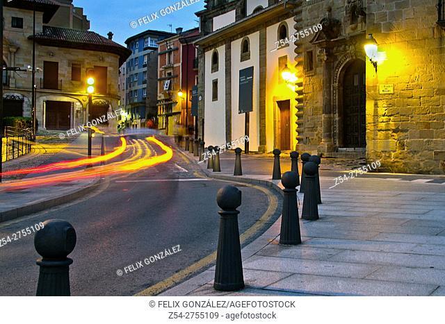 Cimadevilla, Palacio de Revillagigedo, Gijon, Asturias, Spain
