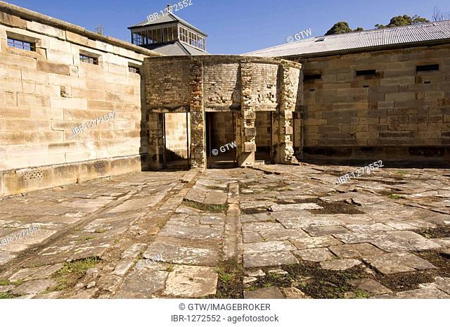 Port Arthur penal colony, model prison, Tasmania, Australia