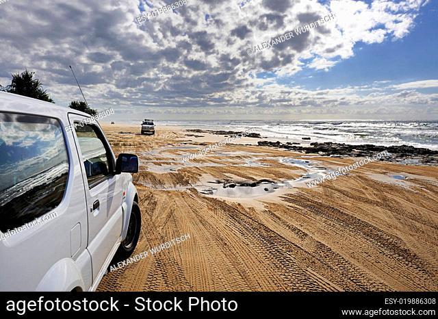 Unterwegs auf Fraser Island